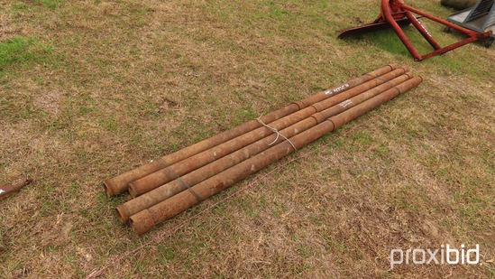 (4) 4 in.x8' Well Pipe