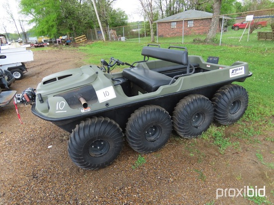2015 Argo 8x8 Frontier EFI Utility Vehicle, s/n 2DGS00BT4FNR37249 (No Title