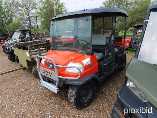 Kubota RTV1140CPX 4WD Utility Vehicle, s/n 25388 (No Title - $50 Trauma Car