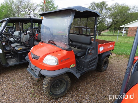 Kubota RTV900 4WD Utility Vehicle, s/n 97267 (No Title - $50 Trauma Care Fe