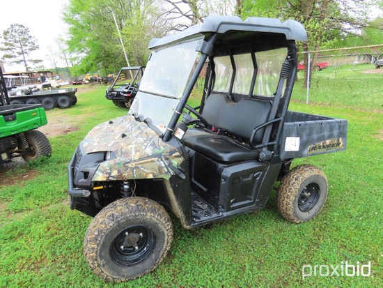 2013 Polaris Ranger RV 4WD Utility Vehicle, s/n 4XARC08GXD4733341 (No Title