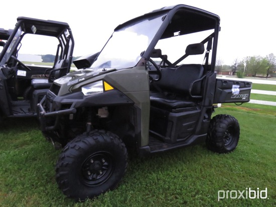 Polaris 900 HO Utility Vehicle, s/n 3NSRTA878FG49010 (No Title - $50 Trauma