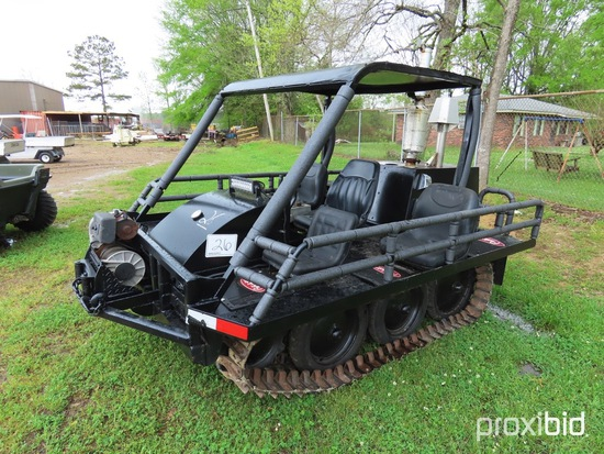 Bombardier All Terrain Track Machine (No Title - $50 Trauma Care Fee Applie