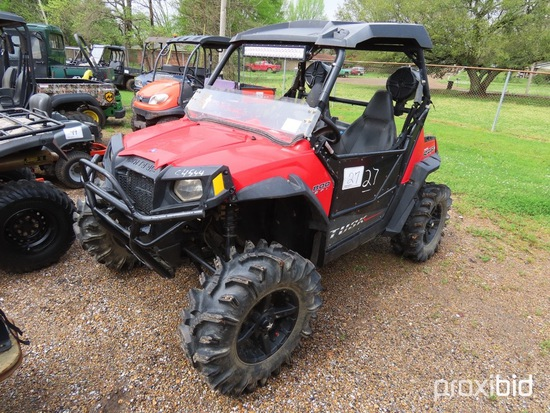2014 Polaris RZR 4WD ATV, s/n 4XAVE76AXEF364079 (Has Title - $50 Trauma Car
