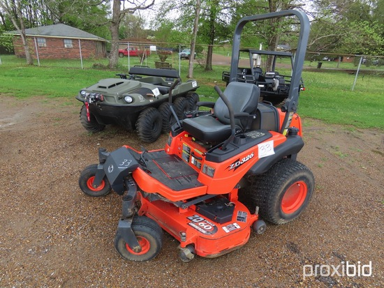 "Kubota ZD326P Zero-turn Mower, s/n 15652: 60"" Cut, Remaining Warranty, Mete"