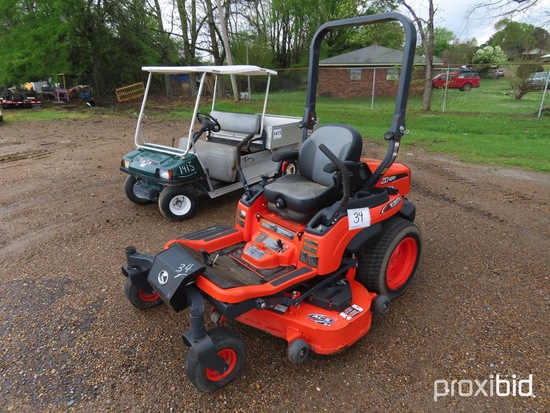 "Kubota ZD1011 Zero-turn Mower, s/n 11311: 54"" Cut, Meter Shows 190 hrs"