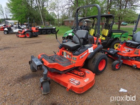 "Kubota ZD331 Zero-turn Mower, s/n 35152: Diesel, 72"" Cut, Meter Shows 1998"