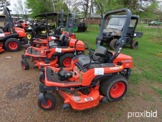 "Kubota ZD221 Zero-turn Mower, s/n 31698: 54"" Cut, Meter Shows 419 hrs"