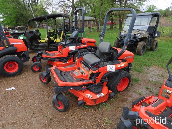 "Kubota ZD221 Zero-turn Mower, s/n 31389: 54"" Cut, Meter Shows 428 hrs"