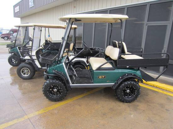 2010 Club Car Electric Golf Cart, s/n AQ1042-140122 (No Title): 48-volt, Ne