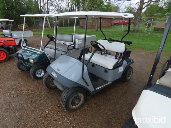 EZGo TXT Electric Golf Cart, s/n 902212 (No Title): 36-volt, Auto Charger