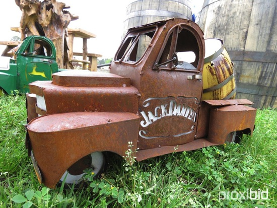 Mini Metal Jack Daniels Truck