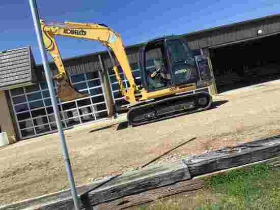 2009 Kobelco SK80CS-2 Midi Excavator, s/n LF0504148: C/A, Heat, Blade, Rubb