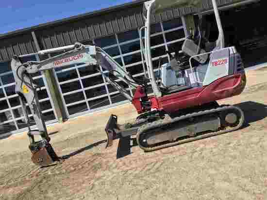 2014 Takeuchi TB228 Mini Excavator, s/n 122803566: Diesel, Aux. Hydraulics,