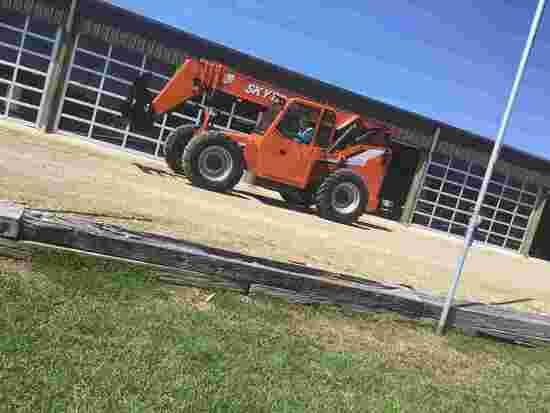 2008 Skytrak 8042 Telescopic Forklift, s/n 0160036477: 4x4x4, 8000 lb. Cap.