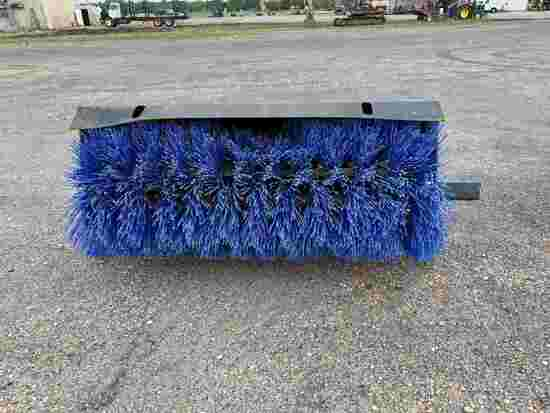 "Unused 72"" Broom for Skid Steer: (Located in Tuscaloosa, Alabama)"