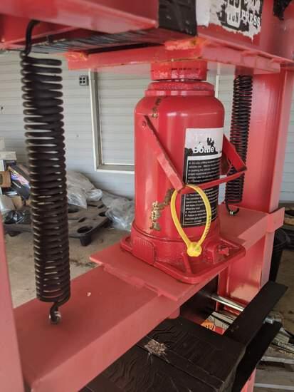 20-ton Shop Press: (Located in Headland, Alabama)