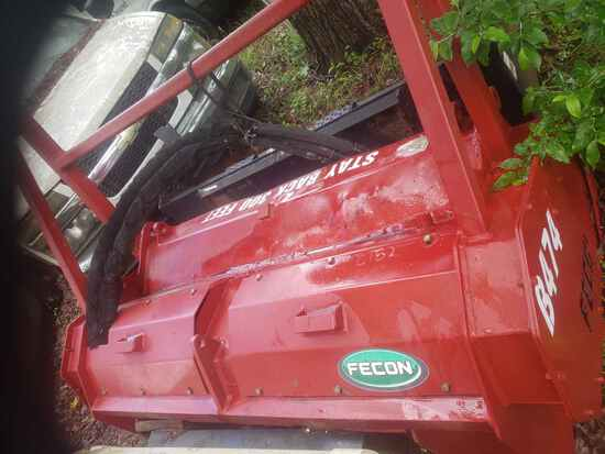 Fecon 474 Mulching Head fits Skid Steer (Located in Hickory Grove, South Ca