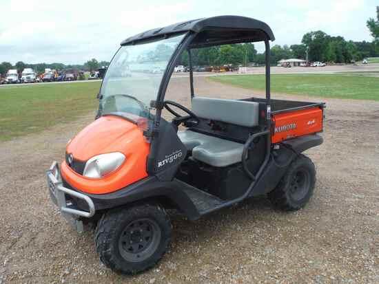 Kubota RTV500 4WD Utility Vehicle, s/n 13298 (No Title - $50 Trauma Care Fe
