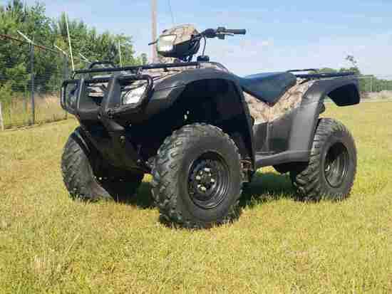 2007 Honda Foreman 4WD ATV, s/n 1HFTE311474205417 (No Title - $50 Trauma Ca
