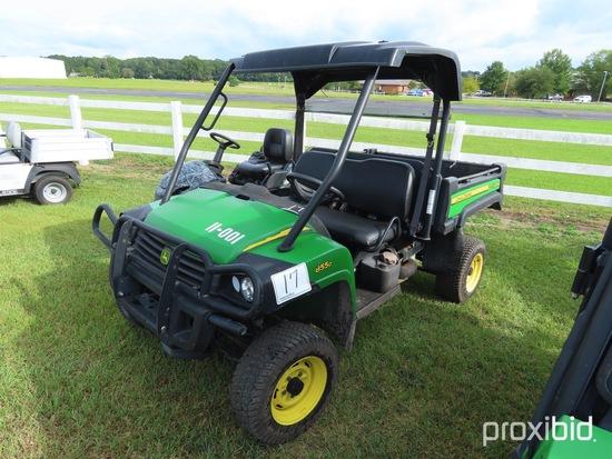 2010 John Deere 855D Gator 4WD Utility Vehicle, s/n 1M0855DSHAM011307 (No T