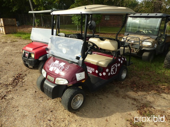EZGO Electric Golf Cart (No Title): 48-volt, Charger