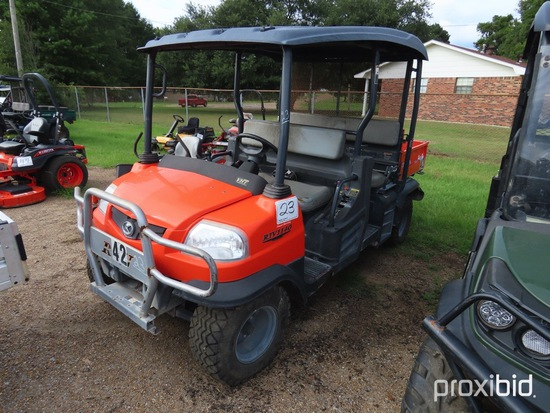 Kubota RTV1140CPX Utility Vehicle, s/n 34648 (No Title - $50 Trauma Care Fe