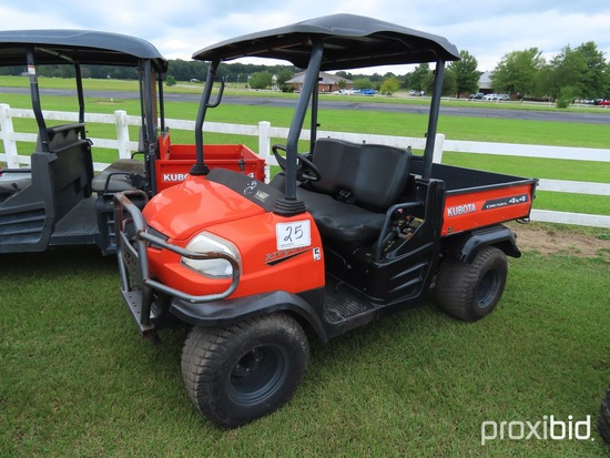 2013 Kubota RTV900 4WD Utility Vehicle, s/n A5KB1FDAPDG0E3560 (No Title - $