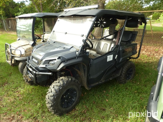 Honda Pioneer 1000 Utility Vehicle (No Title - $50 Trauma Care Fee Applies)