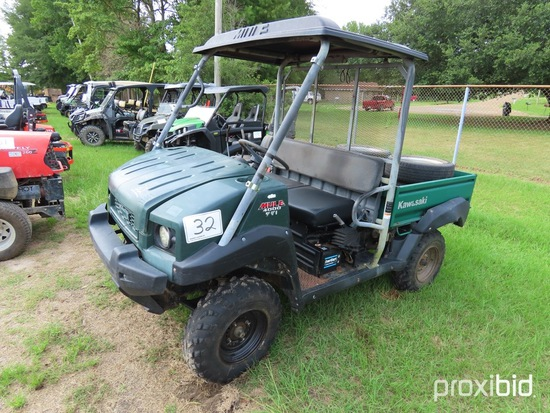 2009 Kawasaki Mule 4000 Utility Vehicle w/ Extra Set of Tires (No Title - $