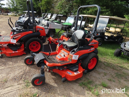 Kubota ZD1011-54 Zero-turn Mower, s/n 10275: Meter Shows 178 hrs