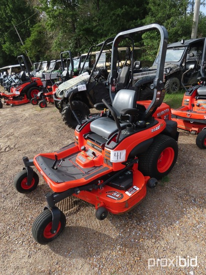 Kubota ZG227A-54 Zero-turn Mower, s/n 55239: Meter Shows 134 hrs