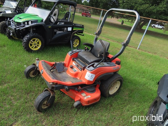 Kubota ZG20 Zero-turn Mower, s/n 14713: Meter Shows 349 hrs