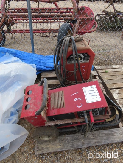 Lot Containing Century Welder and Lincoln Welder