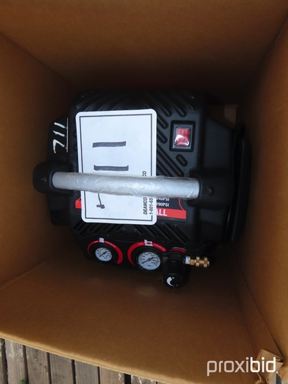 135psi Pancake Air Compressor: 1.5hp, 6-gal