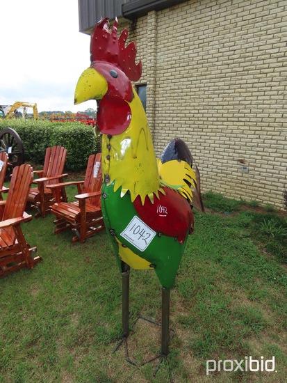 Metal 6' Rooster