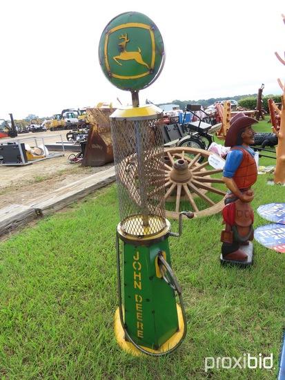 Small John Deere Gas Pump