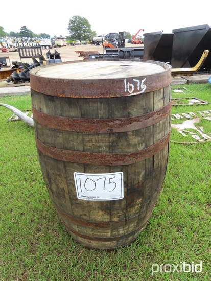 Jack Daniels Whiskey Barrel