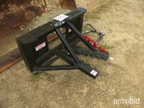 Industrius Americus Hydraulic Tree Puller for Skid Steer