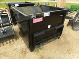 2-yard Hopper for Skid Steer