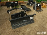 Bobcat Push Blade for Skid Steer