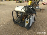 Landa Pressure Washer: Model PGDC5-3000, Burner, Rack-mounted, 16hp Eng. (O