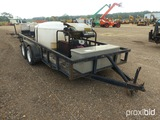 Landa Gold Series Pressure Washer, s/n P0198-8614 on 1999 Big Tex Trailer,