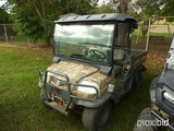 Kubota RTV900R6 Utility Vehicle, s/n 83854: Meter Shows 2837 hrs (No Title