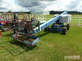 1998 Genie S40 4WD Boom-type Manlift, s/n 1541: Meter Shows 7071 hrs