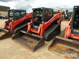 2017 Kubota SVL95-2S Skid Steer, s/n 34309: Meter Shows 970 hrs