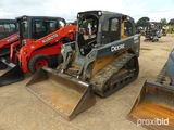 2011 John Deere 323D Skid Steer, s/n 1T0323DJVB0197480: Meter Shows 1653 hr