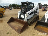 2016 Bobcat T650 Skid Steer, s/n ALJG18118: Open Station, GP Bkt., Rubber T