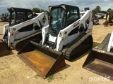 2015 Bobcat T650 Skid Steer, s/n ALJG12567: C/A, Rubber Tracks, Meter Shows