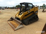 2013 Cat 277C2 Skid Steer, s/n MET00312: 2-sp., Aux. Hydraulics, Rubber Tra